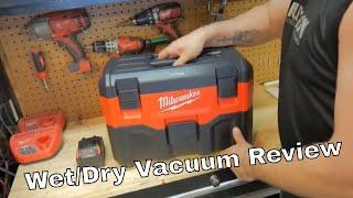 MIlwaukee M18 Cordless wet/dry vacuum Review