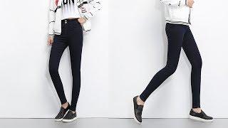 Plus Size High Waist Denim Jeans For Women
