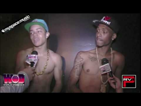 New Boyz Shirtless at the Myspace Step Up 3D Release Party hosted by Myron Marten / 21XL