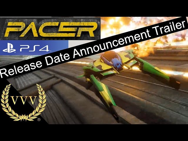 Pacer - PS4 Release Date Trailer