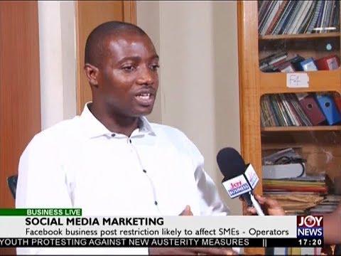 Social Network Business - Business Live on JoyNews (15-1-18)