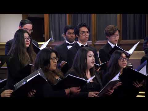 UCR Chamber Singers - Songs for Spring, 20 May 2018