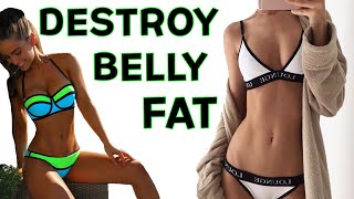 Belly Fat Burning HIIT TORCHER | 4 Fat Burning HIIT Cardio Workout To Burn Belly Fat!