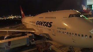 Flight Review Qantas Sydney to Haneda Tokyo Business Class B747-400