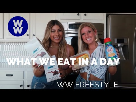 What We Eat In A Day On Weight Watchers!
