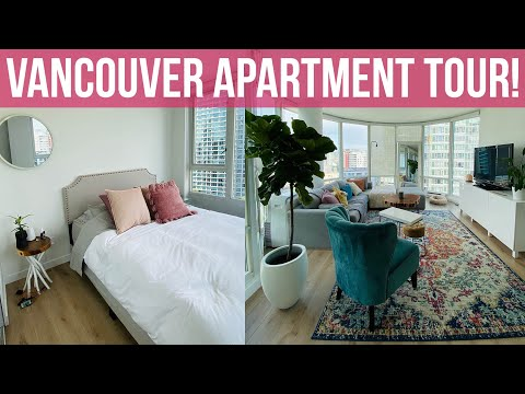 I MOVED TO VANCOUVER! 🌟 APARTMENT TOUR