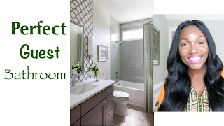 ‼️TIPS FOR THE PERFECT GUEST BATHROOM‼️