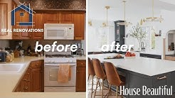 Before And After Dream Kitchen Renovation I Real Renovations I HB