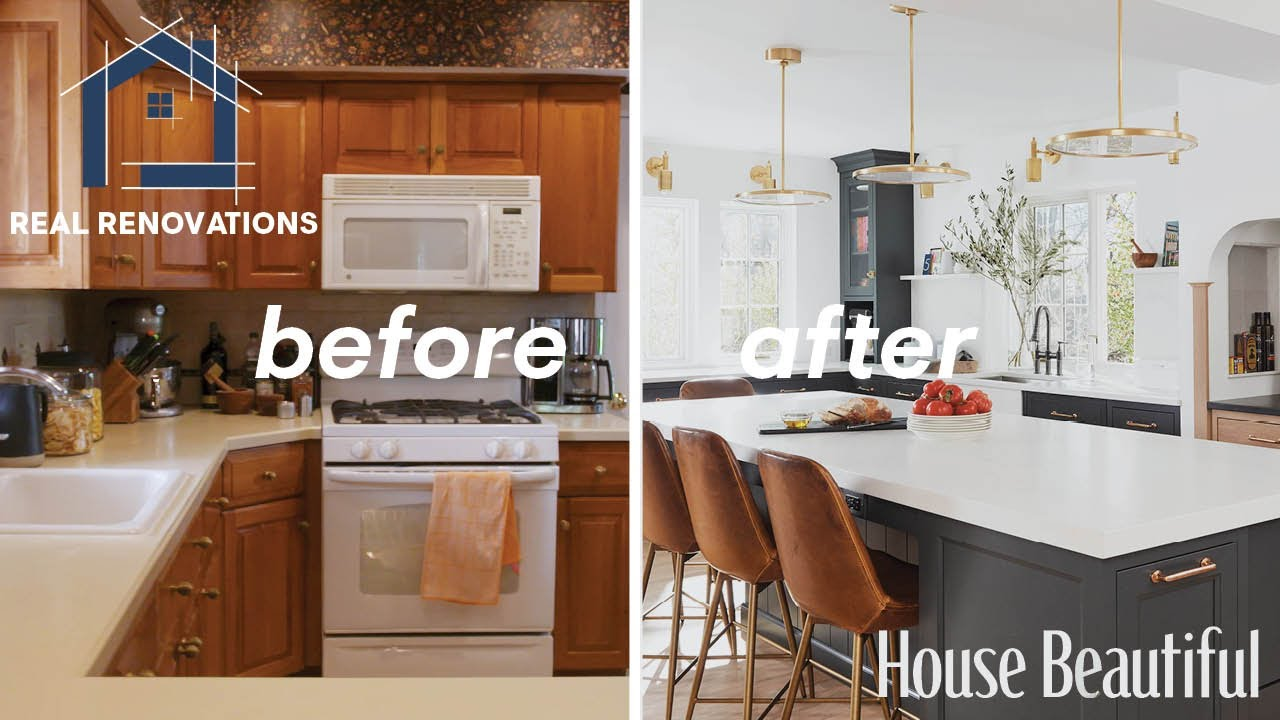 Before And After Dream Kitchen Renovation I Real Renovations I Hb Youtube