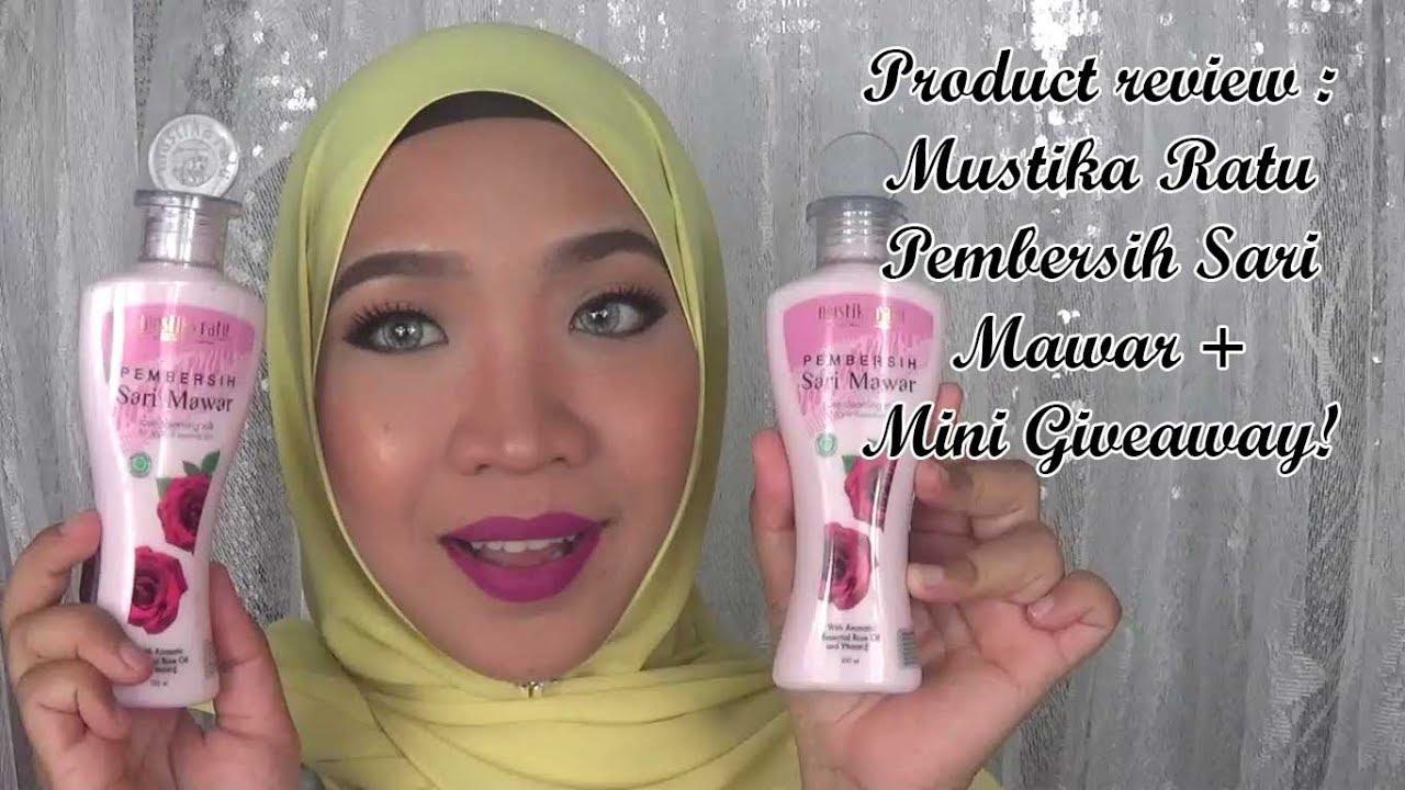 Product Review Mustika Ratu Pembersih Sari Mawar Mini Give Away Complete Whitening Series