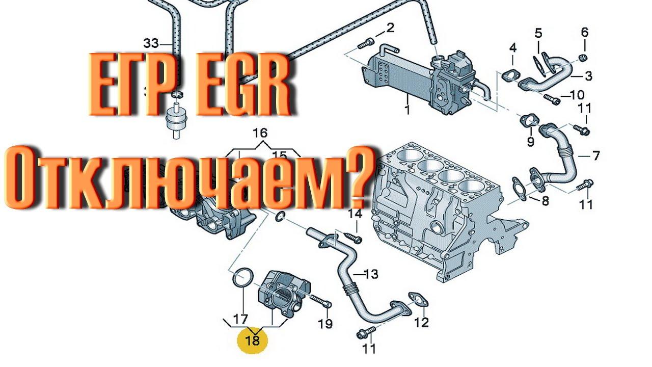 Клапан егр (EGR). Стоит ли отключать клапан (глушить)?