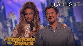 The Moment Michael Ketterer Got 5th Place On AGT - America's Got Talent 2018
