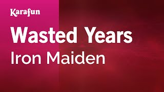 Karaoke Wasted Years - Iron Maiden *