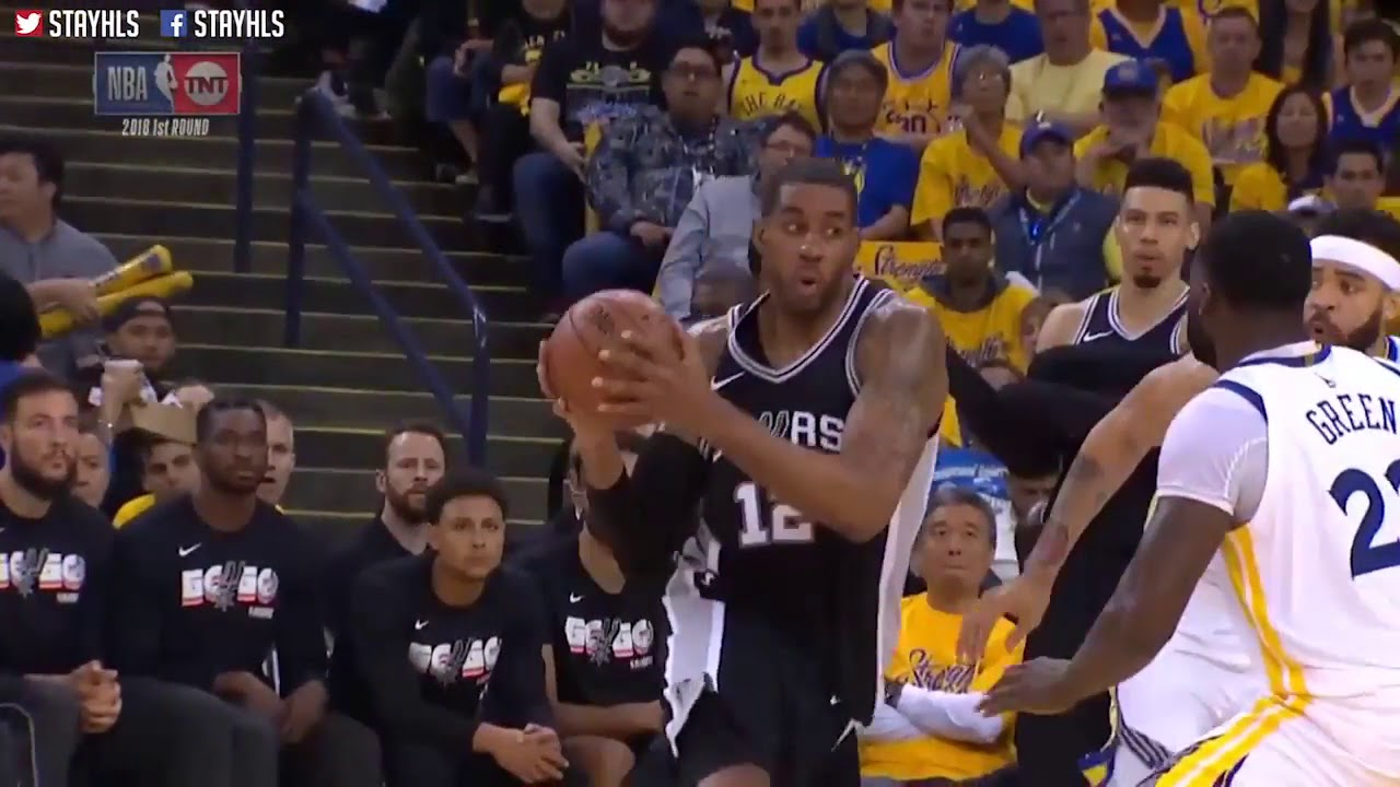 Golden State Warriors vs San Antonio Spurs Full Game Highlights   Game 5   2018 NBA Playoffs