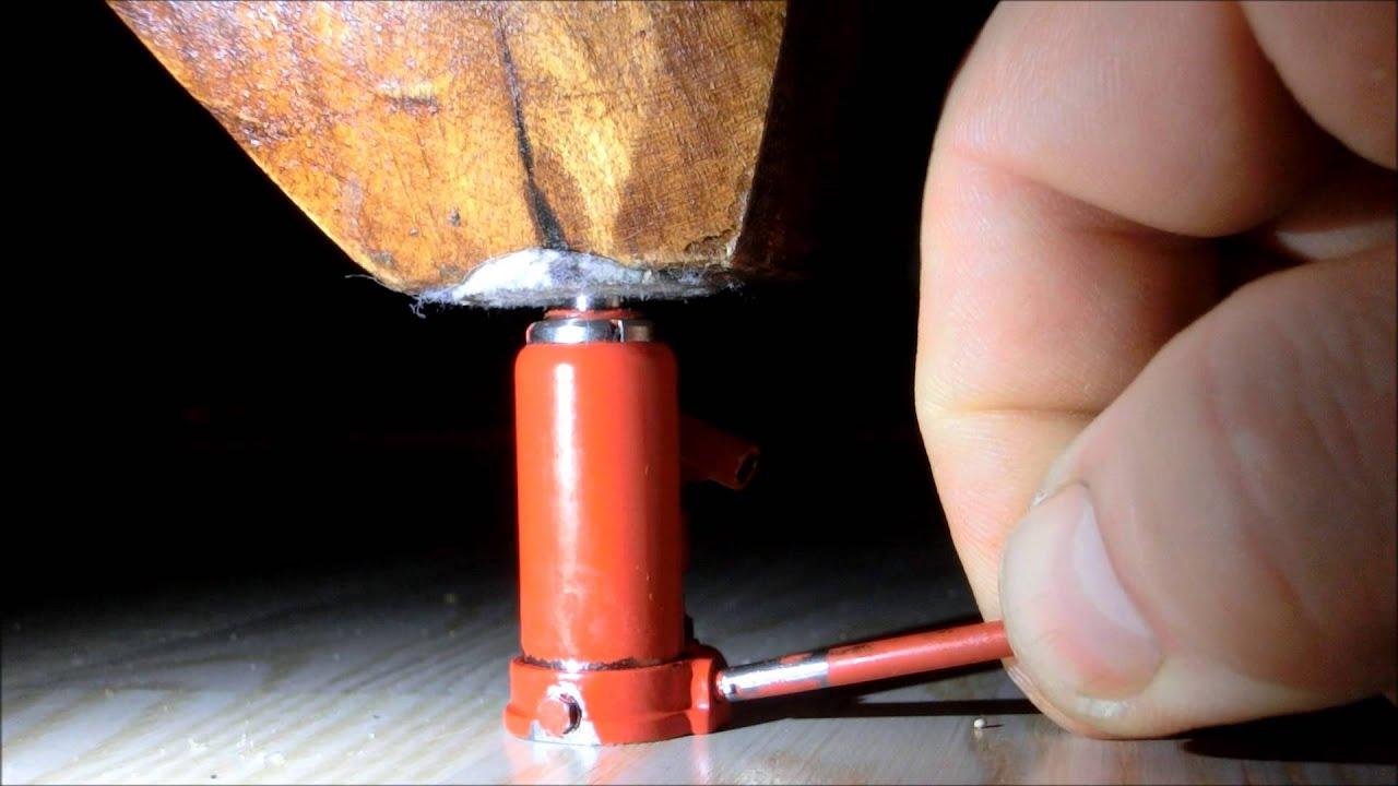 Short Hydraulic Jacks : Miniature hydraulic jack youtube