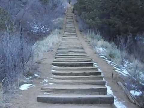 Hiking The Approach To The Manitou Springs Incline (Extreme Trail), Colorado