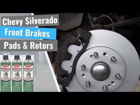 Chevy Silverado: Front Brake Job