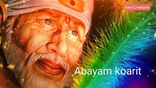 Manase Harathi shiridi Sripathi video song