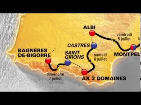 100th Tour de France route unveiled