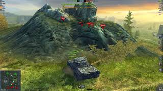 WoT Blitz Leopard 1 6.2K mastery