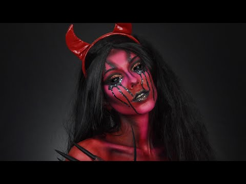 GLAM GORE : DEMON OF MY UNIVERSE ⎹ HALLOWEEN MAKEUP 2018 streaming vf