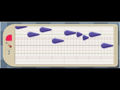 Segment 2 web-based Hyperscore Melody Module Training