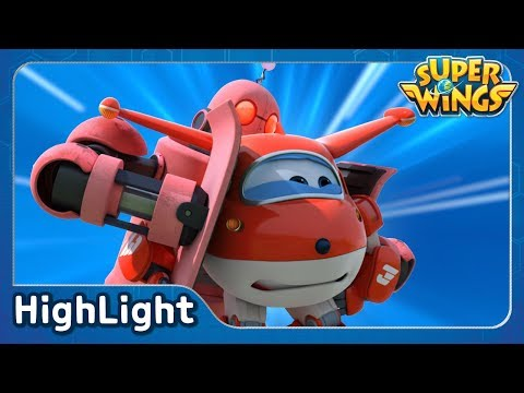 The Jeju Giant (South Korea) | SuperWings Highlight | S2 EP10