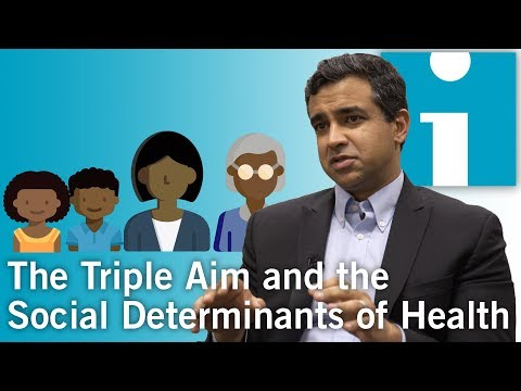 The Triple Aim and the Social Determinants of Health - YouTube