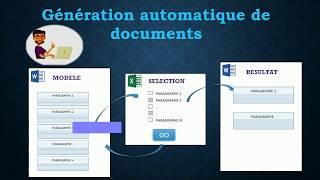 Tuto: Automatisation de documents avec Excel, Word et VBA
