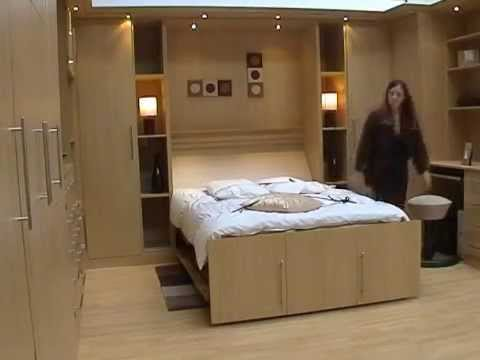 Hideaway Beds Ca Wall Bed Youtube