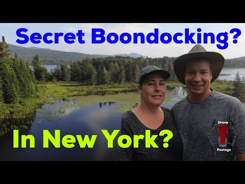 NEW YORK--Boondocking In MOOSE RIVER PLAINS