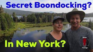 NEW YORK--Boondocking in MΟOSE RIVER PLAINS
