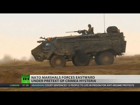 NATO continues escalation of tensions with Russia