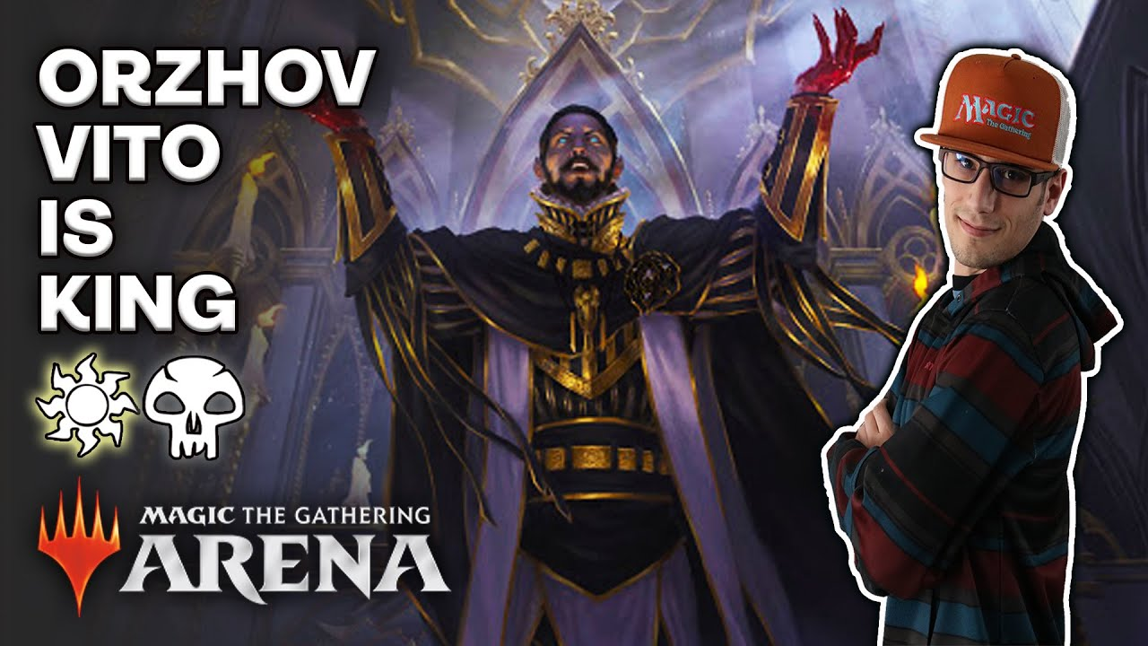 🧛🧛🏿 Vito, Thorn of the Dusk Rose IS THE BEST card in MTG Arena M21 Orzhov Deck Guide 🧛🏿🧛