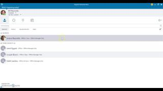 Managing Contacts on Skype for Business