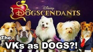 Descendants 2 - DOGscendants 2: Meet the Villains Dogs review!
