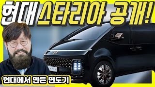 Robot? UFO? Hyundai STARIA(2022 Starex) Revealed!...Shut Up and Take My Money!