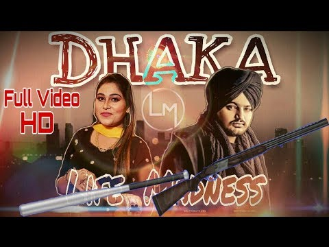 Dhaka - Sidhu Moosewala Feat Afsana Khan | Official Video | New Punjabi Song 2019 - Life Madness