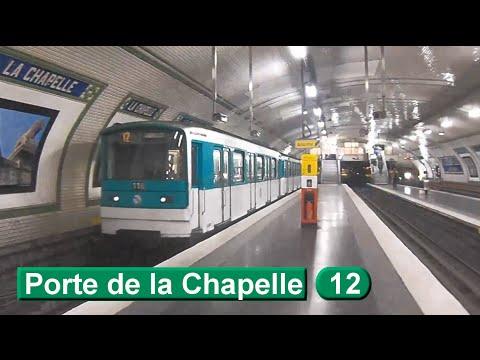 M tro de paris porte de la chapelle ligne 12 ratp mf67 for Porte de la chapelle