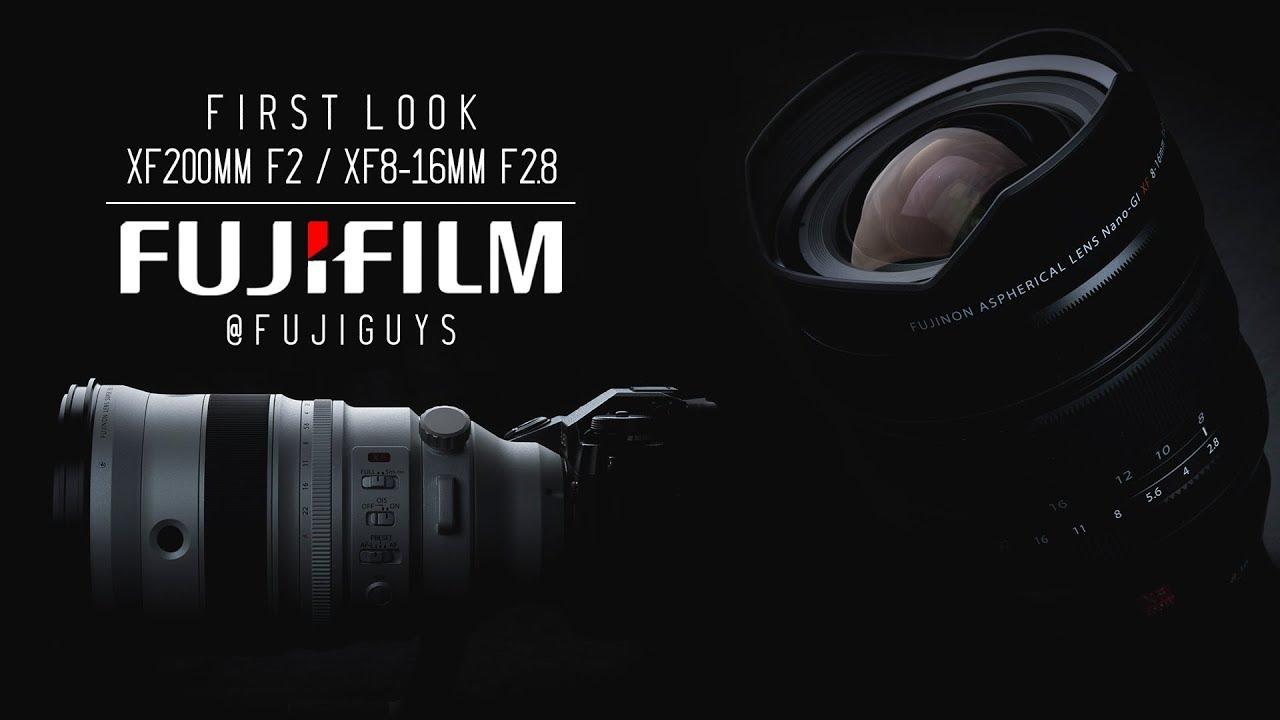 Download Fuji Guys - FUJINON XF200mmF2 / XF8-16mmF2.8 - First Look