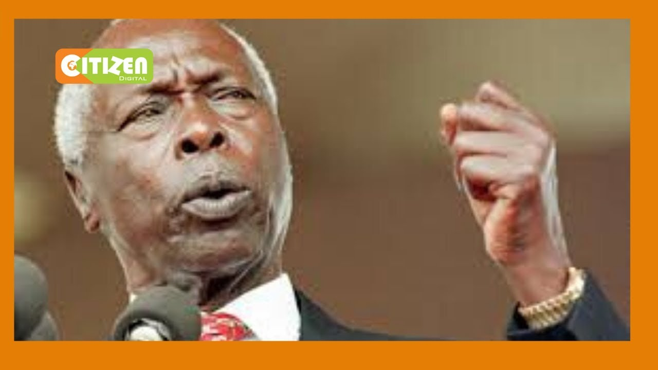 President Moi 'the professor of politics'