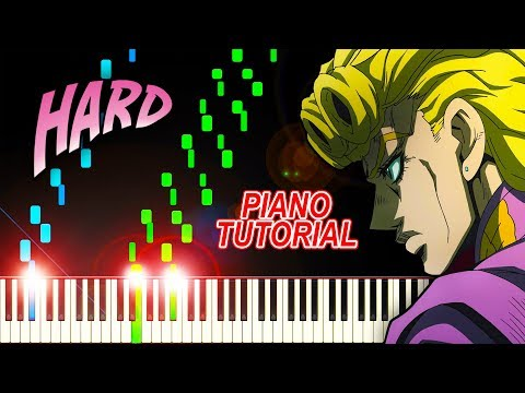 Traitor's Requiem (OP 2 From Jojo's Bizarre Adventure: Golden Wind) - Piano Tutorial