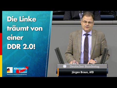 Die Linke träumt von einer DDR 2.0! - Jürgen Braun - AfD-Fraktion im Bundestag