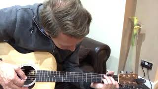 Paul Weller You Do Something To Me guitar chords/ lesson beginner  Martin & Co 00LX1AE & freeman amp