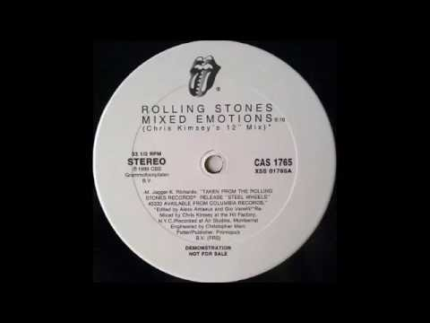 The Rolling Stones - Mixed Emotions (Chris Kimsey