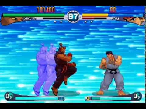 Street Fighter III: 2nd Impact - All Super Arts