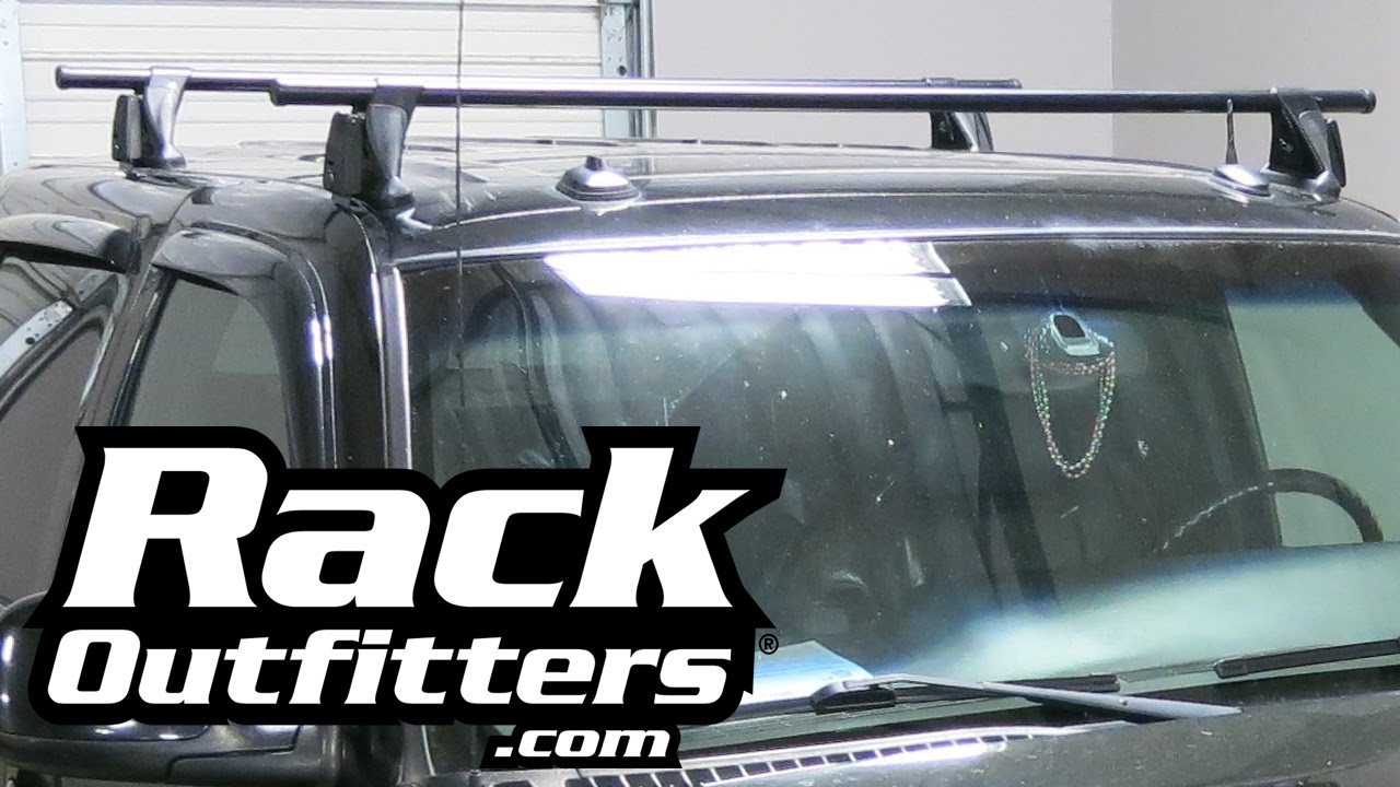 Chevrolet Avalanche Yakima Q Tower Round Bar Roof Rack U002707 U002713 By Rack  Outfitters
