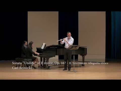 """Carl Reinecke - Sonata """"Undine"""" in E minor, Op.167 (II. Intermezzo: Allegretto vivace)"""