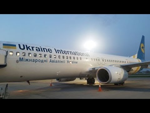 TRIP REPORT | Ukraine International Airlines | Boeing 737-900 | Kiev To Madrid | Economy Class