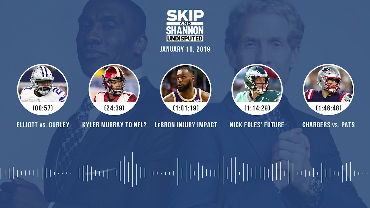 UNDISPUTED Audio Podcast (01.10.19) with Skip Bayless, Shannon Sharpe & Jenny Taft   UNDISPUTED